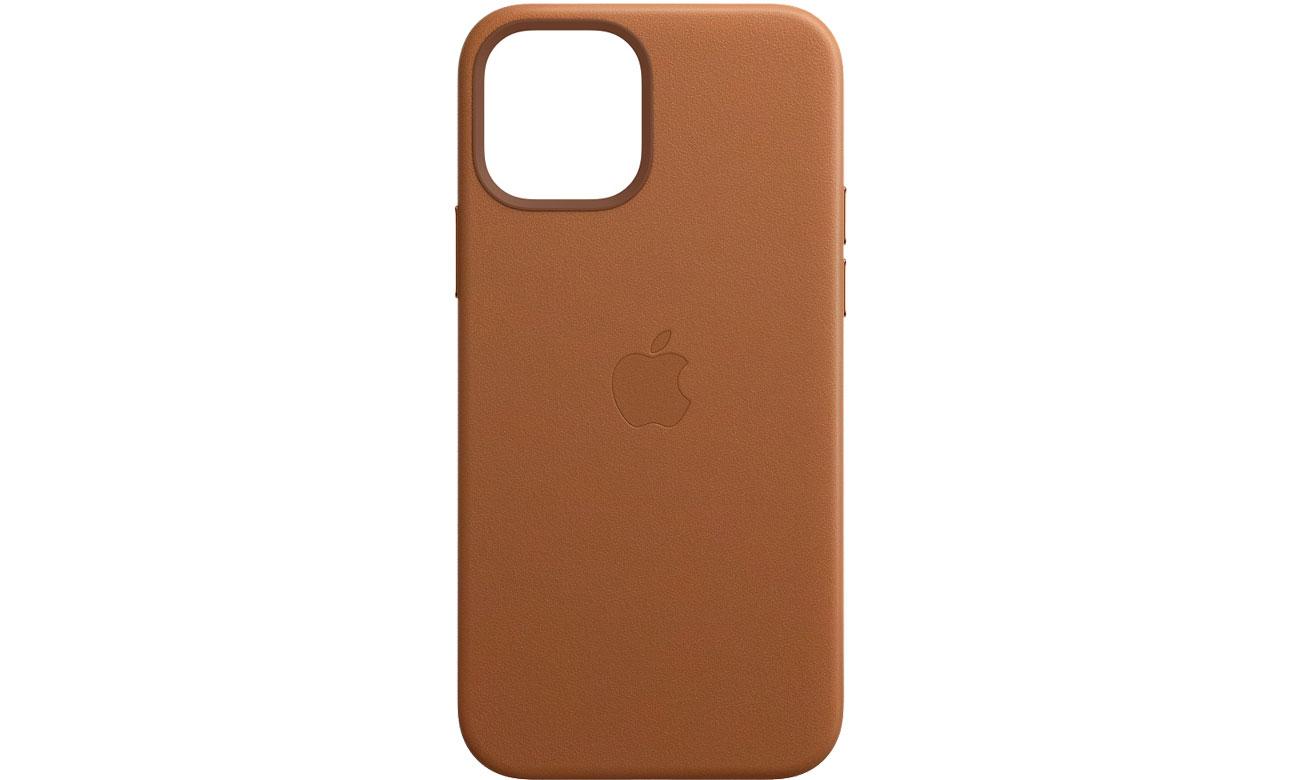 Apple Skórzane etui iPhone 12|12Pro naturalny brąz MHKF3ZM/A