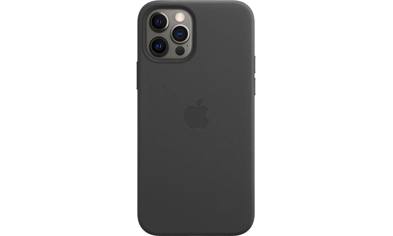 Apple Skórzane etui iPhone 12 12Pro czarne MHKG3ZM/A