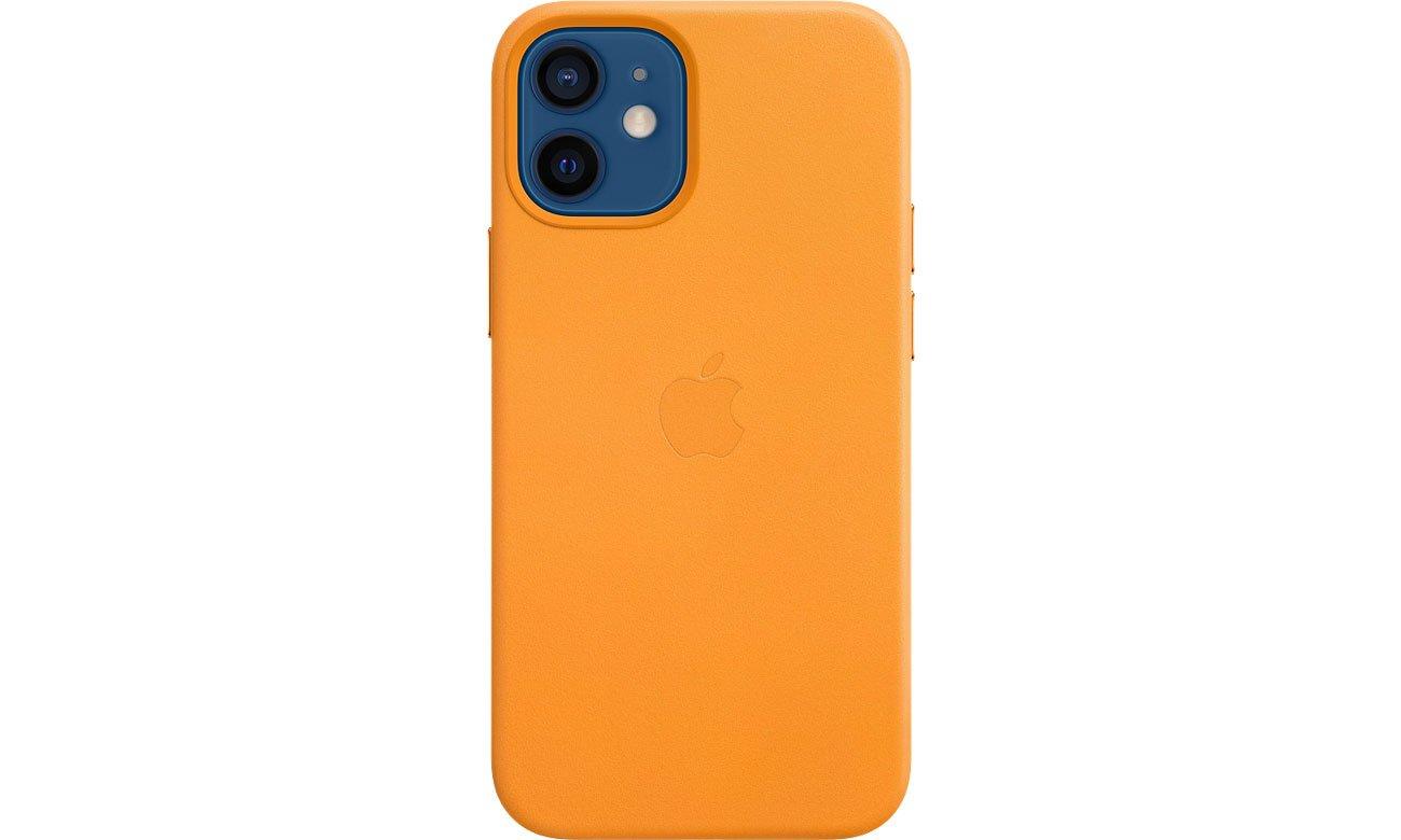 Apple Skórzane etui iPhone 12 mini kalifornijski mak MHK63ZM/A