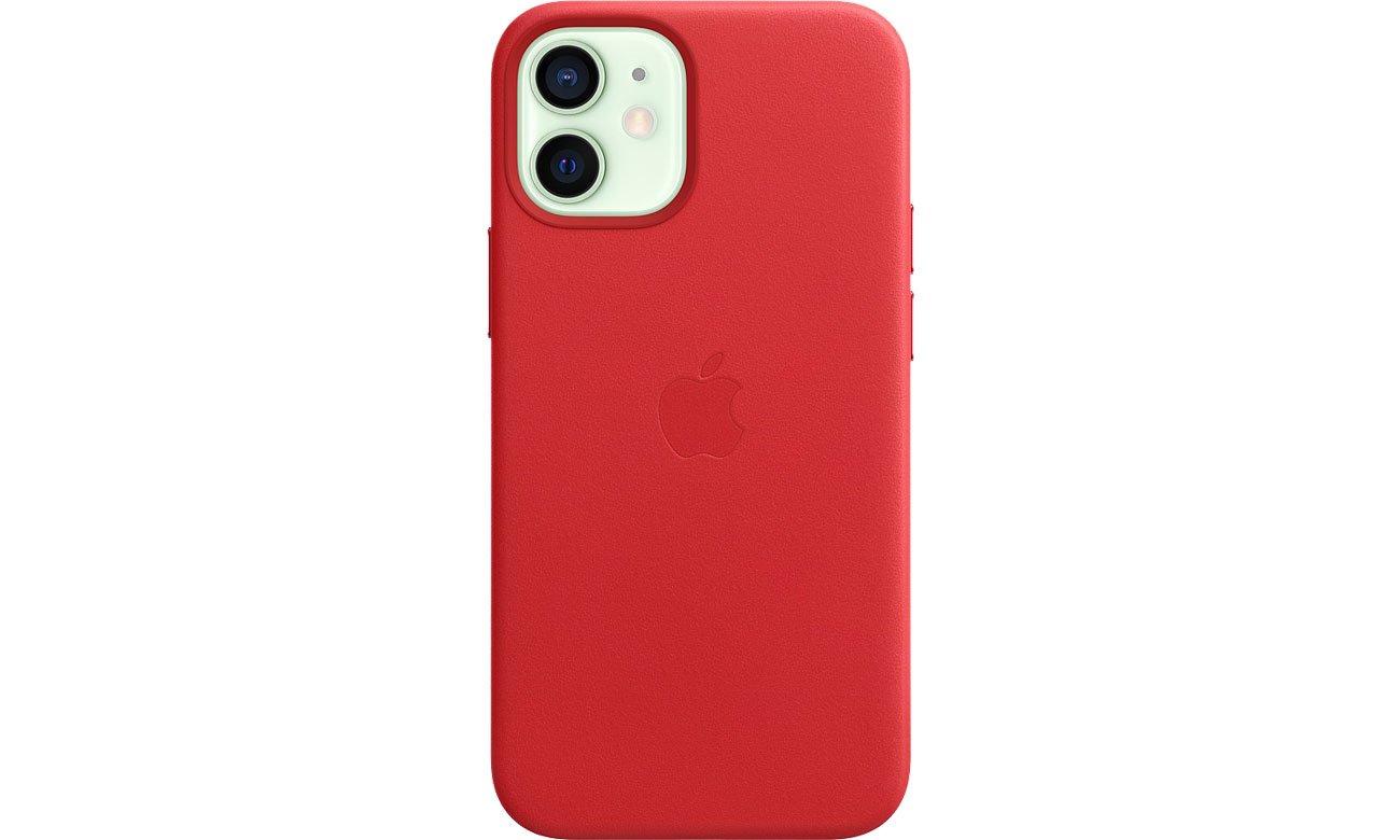 Apple Skórzane etui iPhone 12 mini (PRODUCT)RED MHK73ZM/A