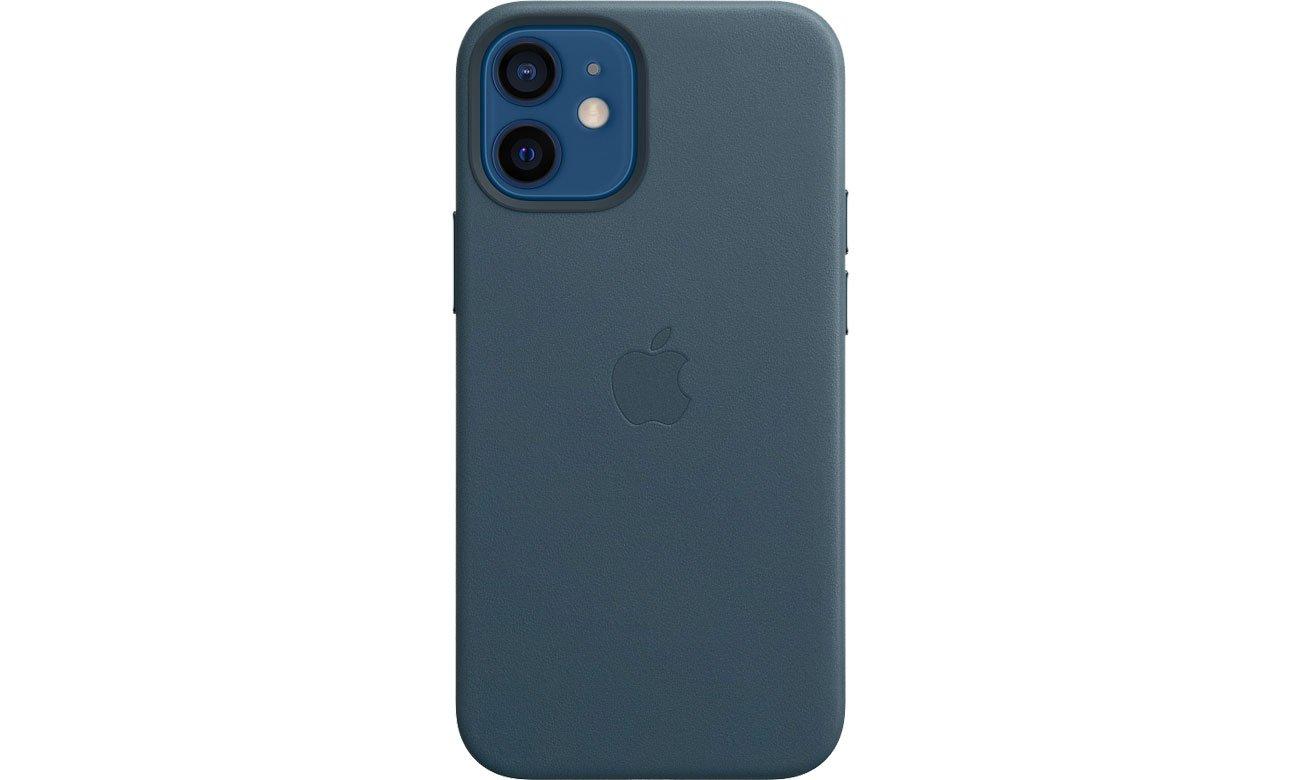 Apple Skórzane etui iPhone 12 mini bałtycki błękit MHK83ZM/A