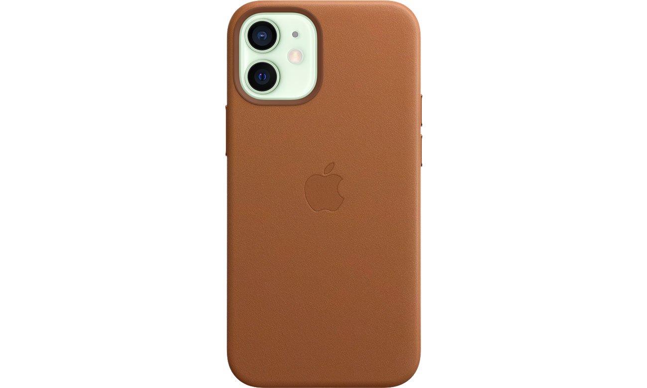 Apple Skórzane etui iPhone 12 mini naturalny brąz MHK93ZM/A
