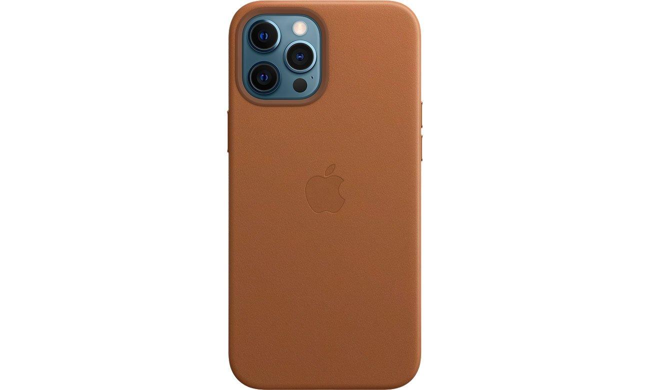 Skórzane etui iPhone 12 Pro Max naturalny brąz MHKL3ZM/A