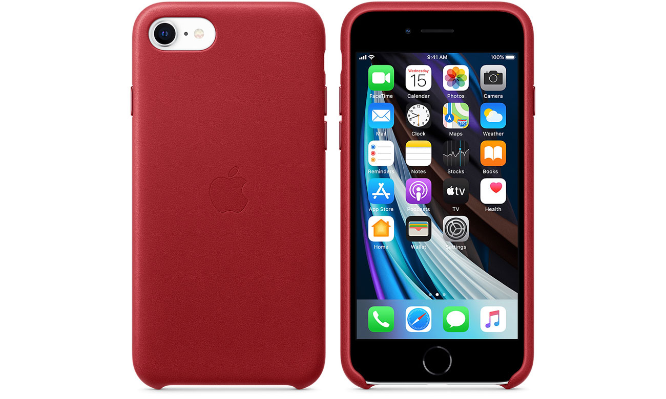 Etui Leather Case (PRODUCT)RED do iPhone 7/8/SE