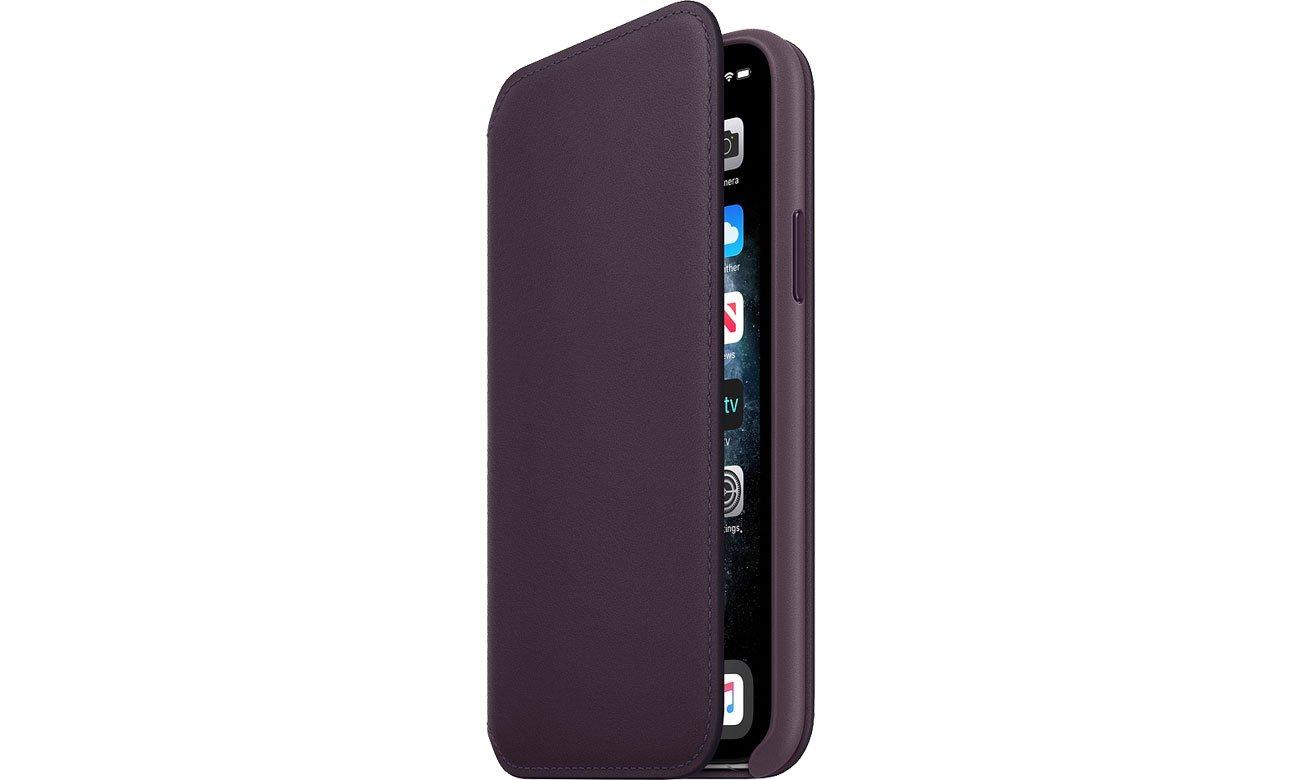 Apple Leather Folio do iPhone 11 Pro Aubergine MX072ZM/A
