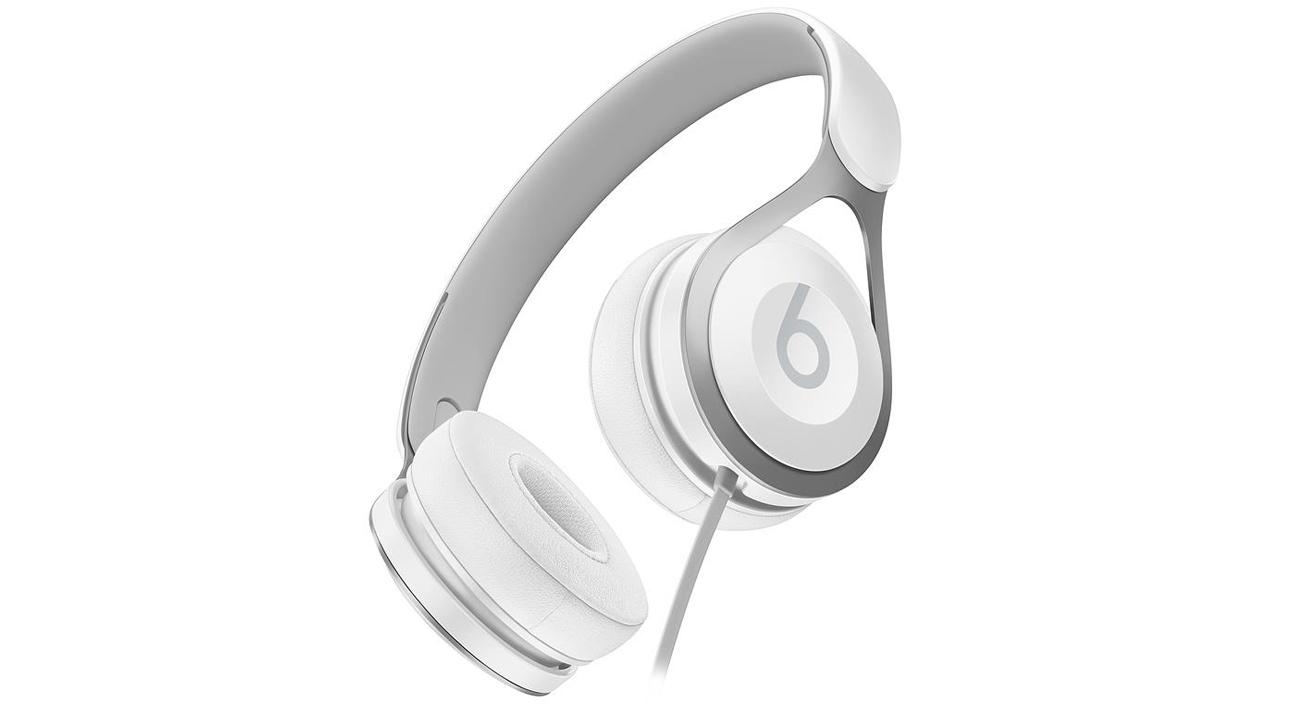 Słuchawki przewodowe Apple Beats EP On-Ear układ akustyczny wyważone brzmienie szeroki zakres częstotliwości