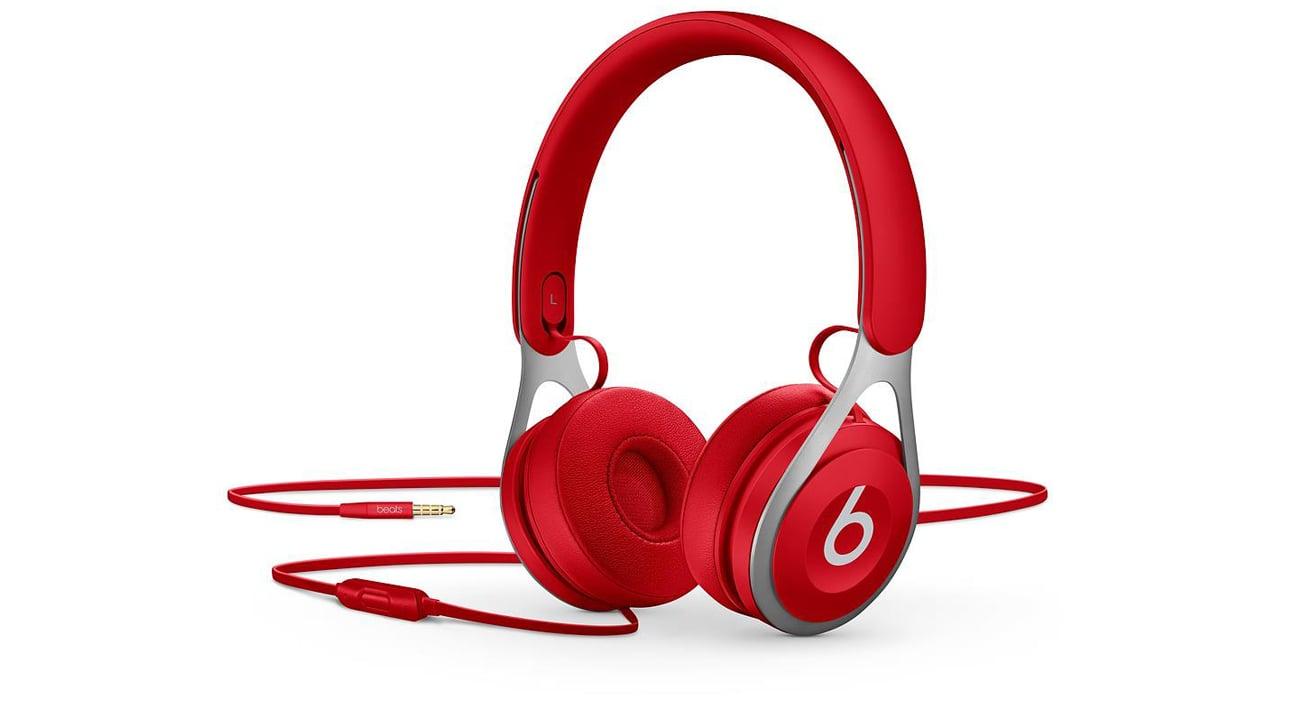 Słuchawki przewodowe Apple Beats EP On-Ear pałąk stal nierdzewna dynamiczne brzmienie