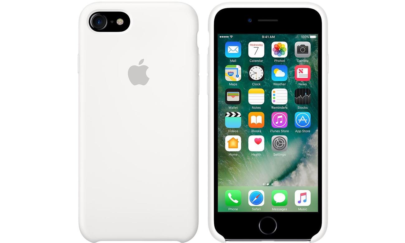 Etui Apple Silicone Case do iPhone 7 biały MMWF2ZM/A