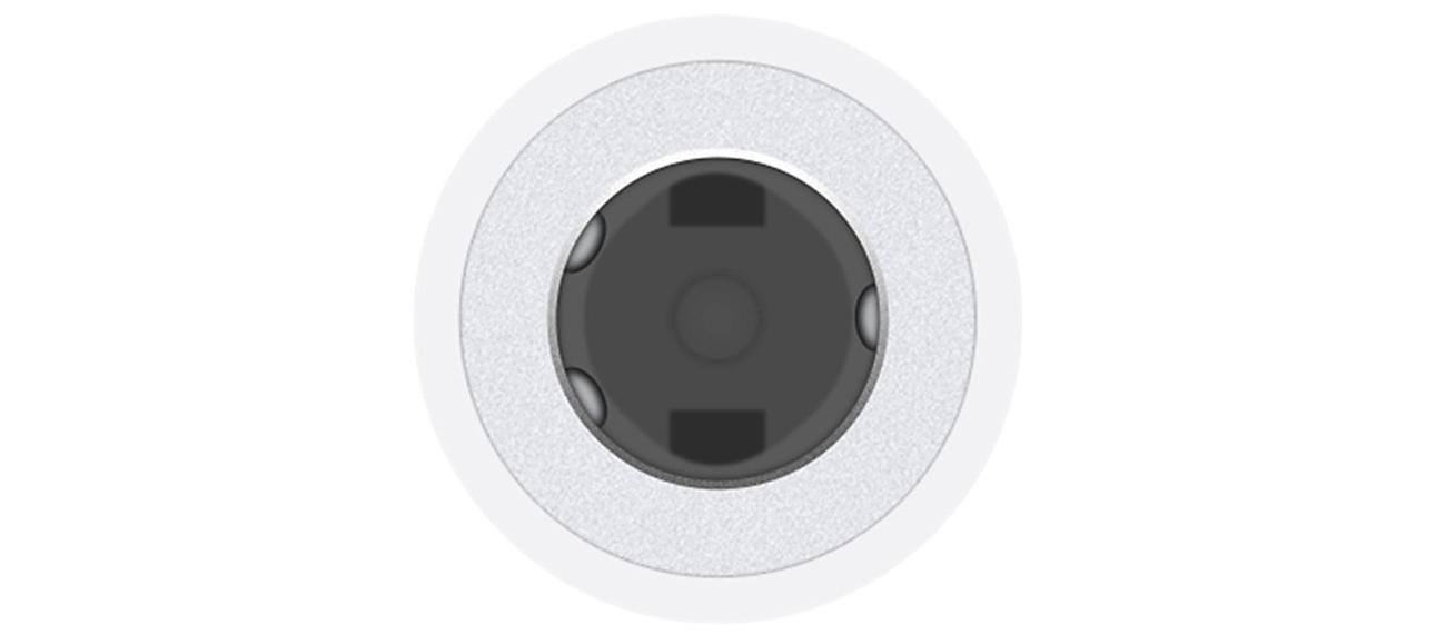 Przejściówka Apple Lightning do 3.5 mm Jack złącze
