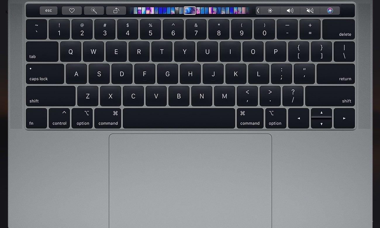 Apple MacBook Pro 13 cisza podczas pisania gładzik