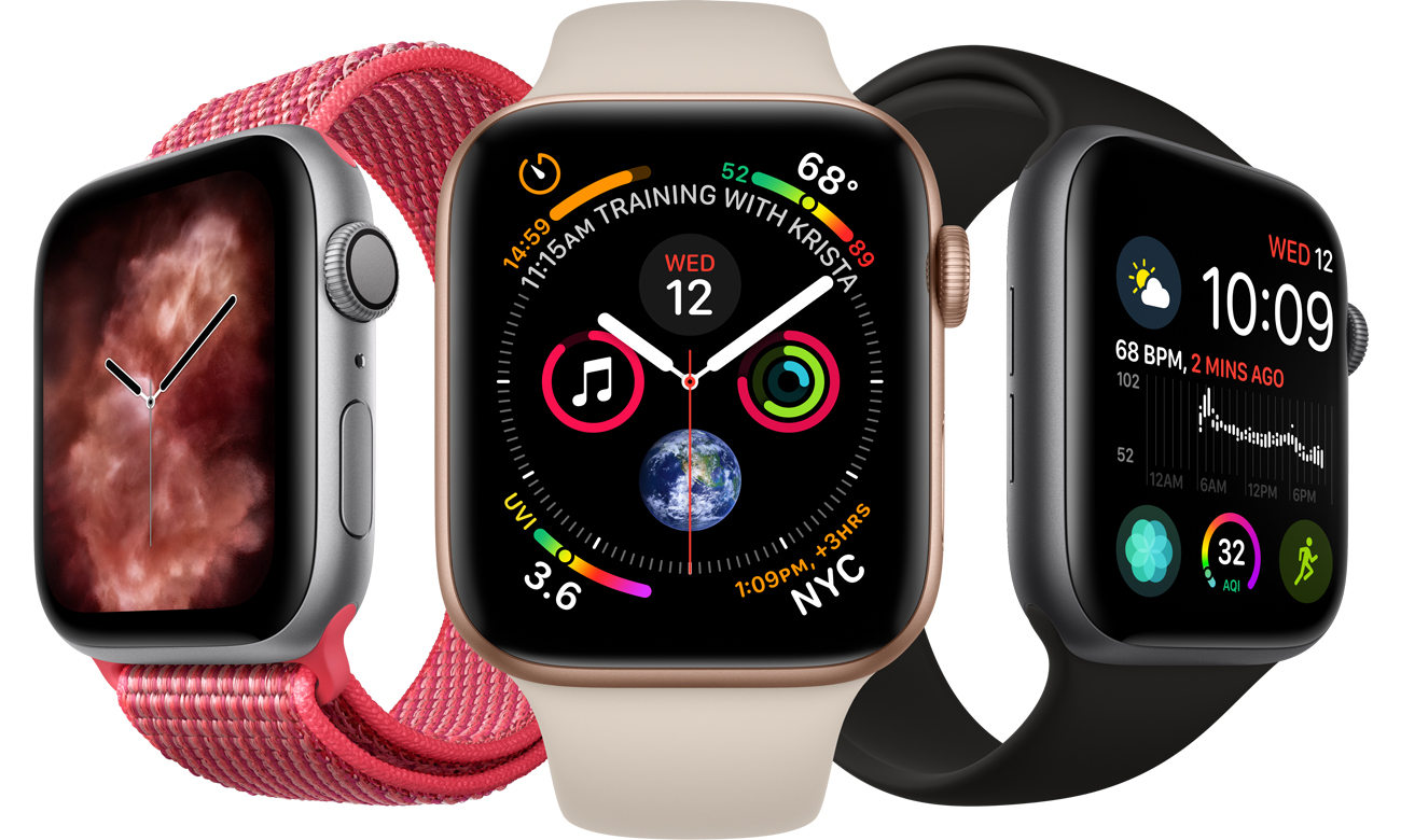 Apple Watch 4 ekran udoskonalony