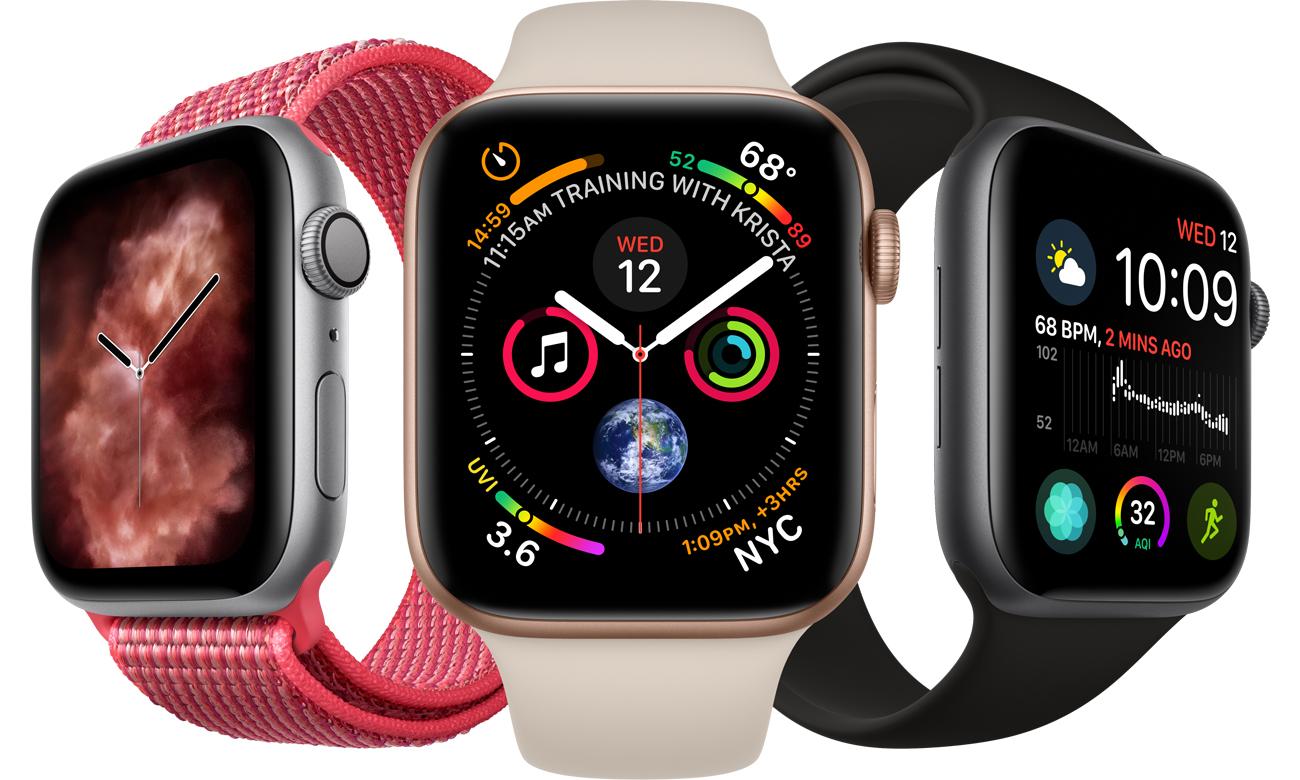 Apple Watch 4 ekran udoskonalony