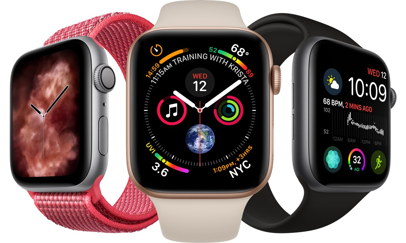 Apple Watch 4 44 nowa konstrukcja