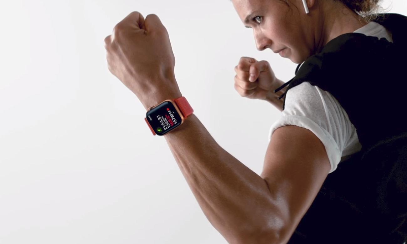 Apple Watch 4 motywacja wyzwania