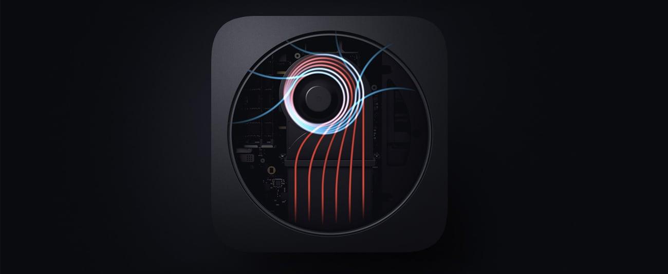 Apple Mac Mini lepsze odprowadzanie ciepła