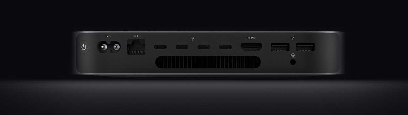 Apple Mac Mini thunderbolt hdmi usb lan