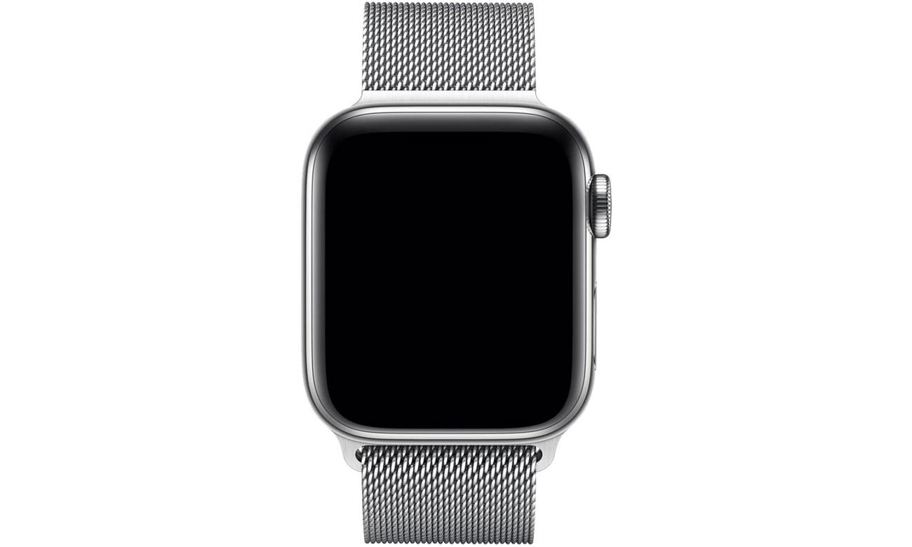 Apple Bransoleta mediolańska srebrna do koperty 40 mm