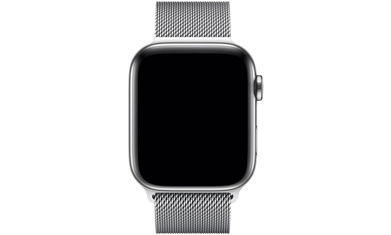 Apple Bransoleta mediolańska srebrna do koperty 44 mm