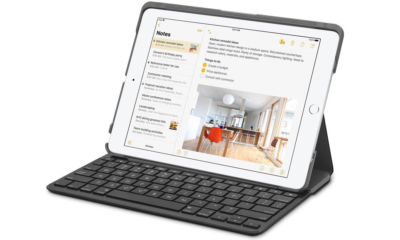 Apple NEW iPad 2018 parowanie z dowolną klawiaturą bluetooth