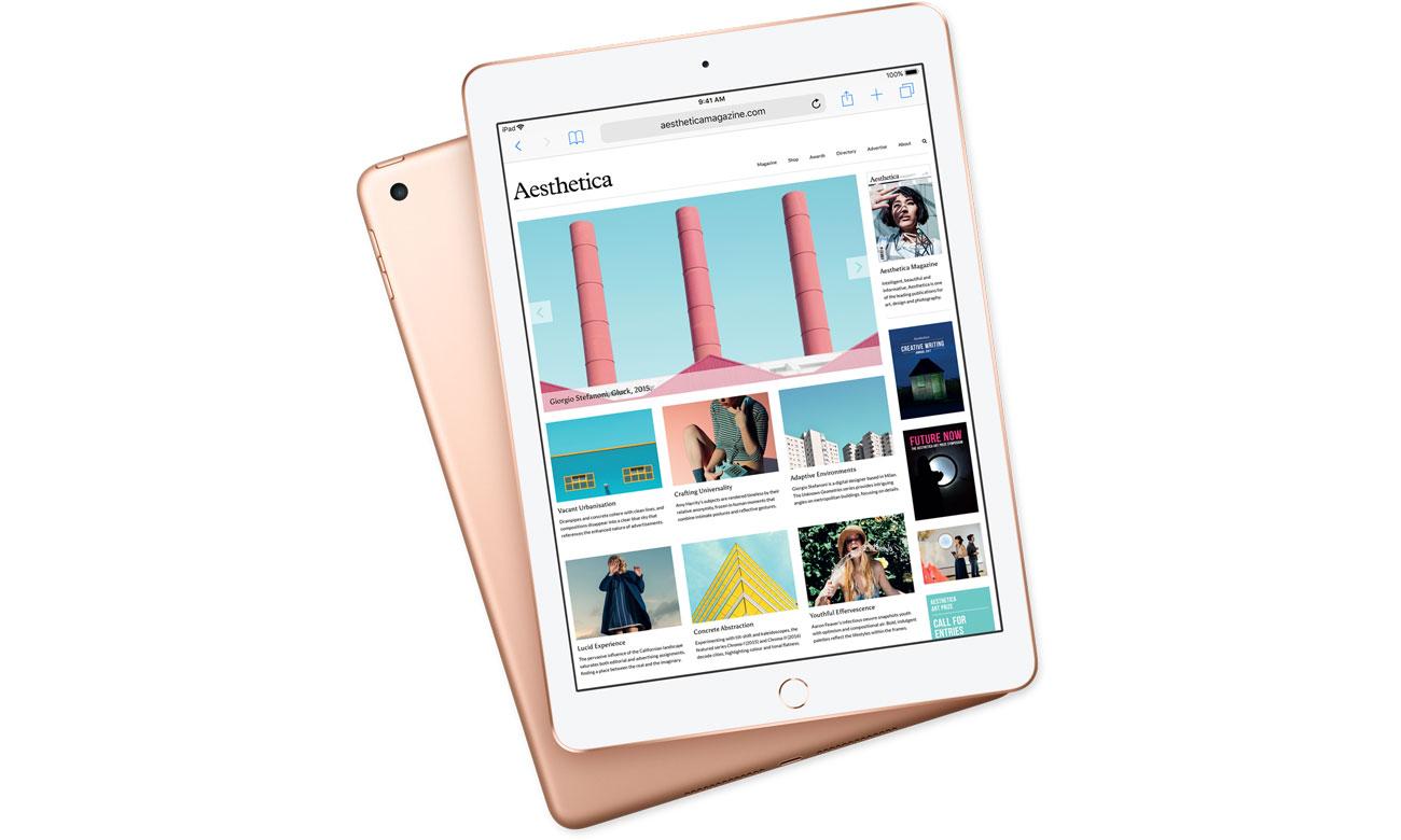 Apple NEW iPad 2018 smukła konstrukcja wytrzymała bateria