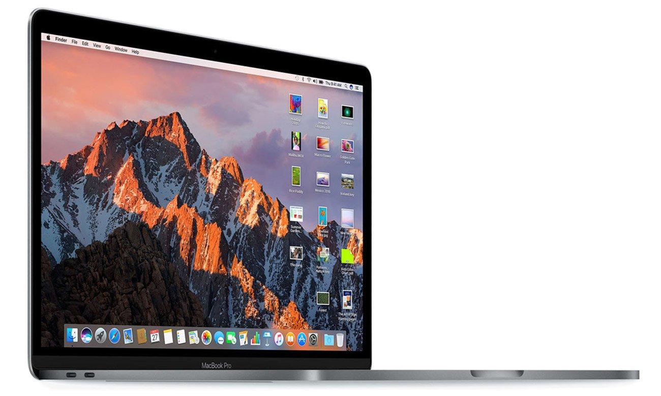 Thunderbolt 3 system operacyjny macOS