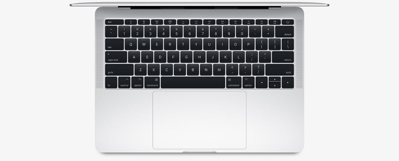 Apple MacBook Pro klawaitura motylkowa oraz wgładzik force touch
