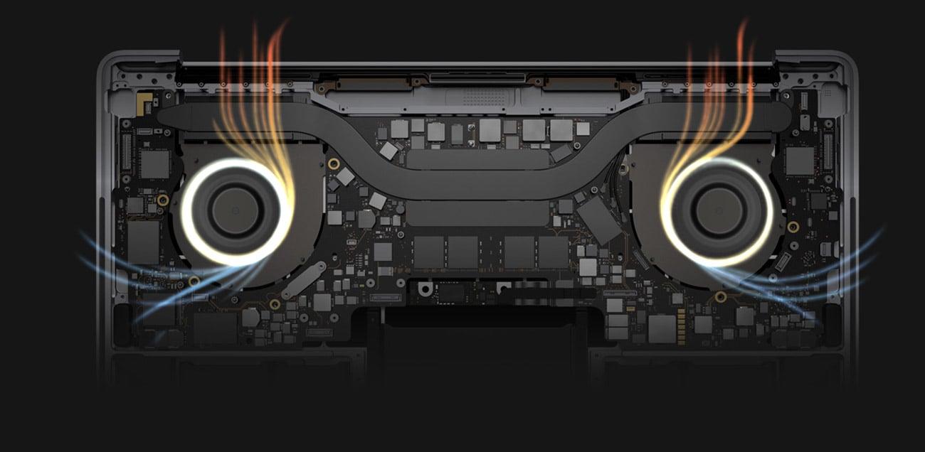 Apple MacBook Pro chłodzenie