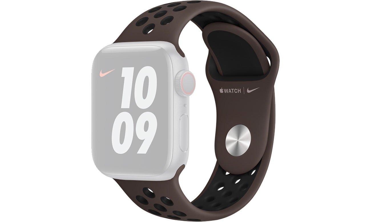 Pasek Sportowy Nike do Apple Watch Iron / Black MJ6J3ZM/A
