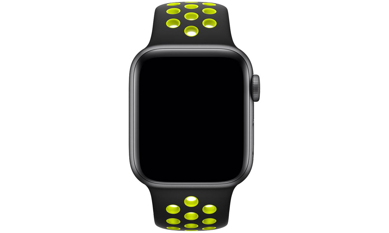 Apple Pasek sportowy Nike czarny/zielonożółty 40mm