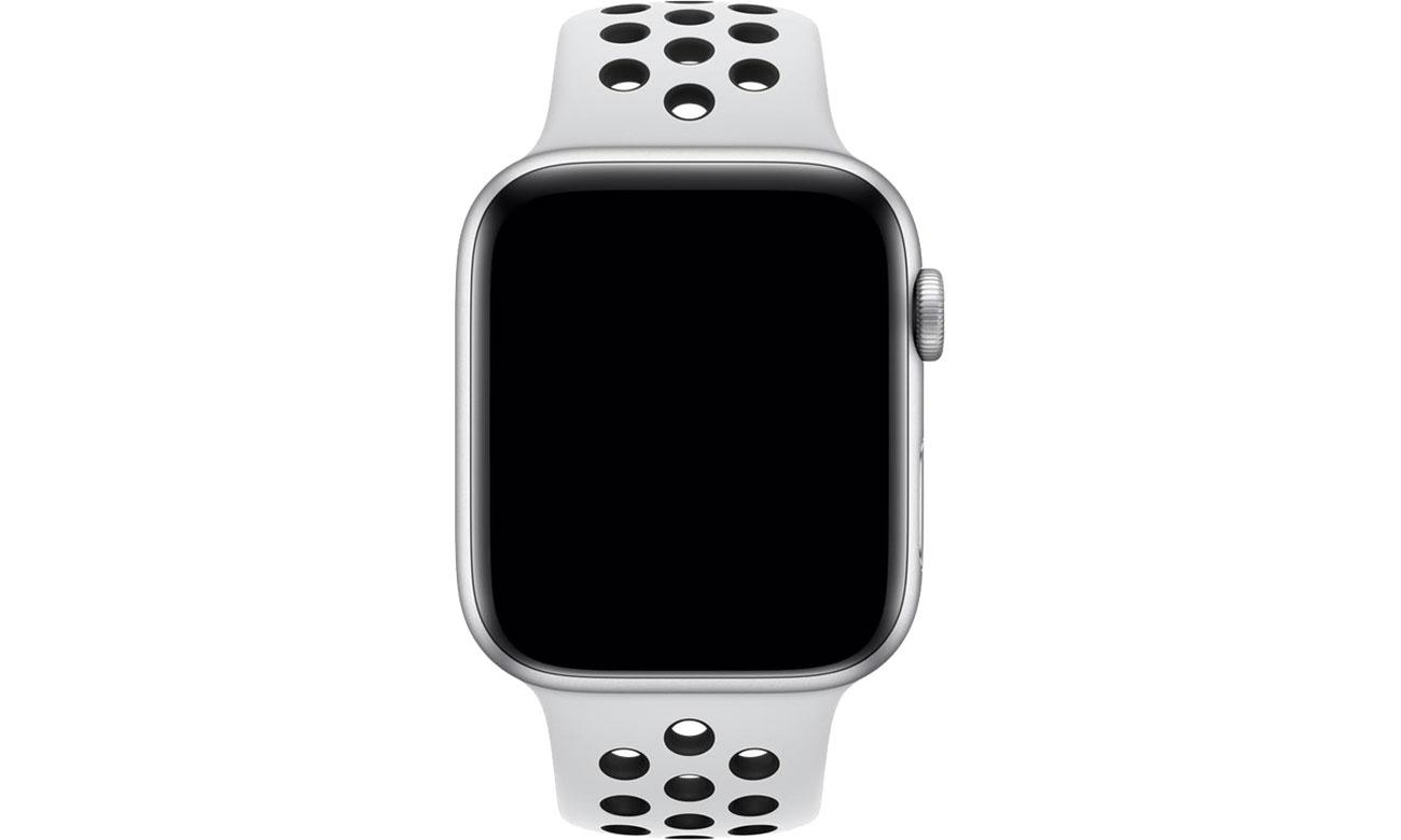 Apple Pasek sportowy Nike biało/czarny do koperty 44 mm