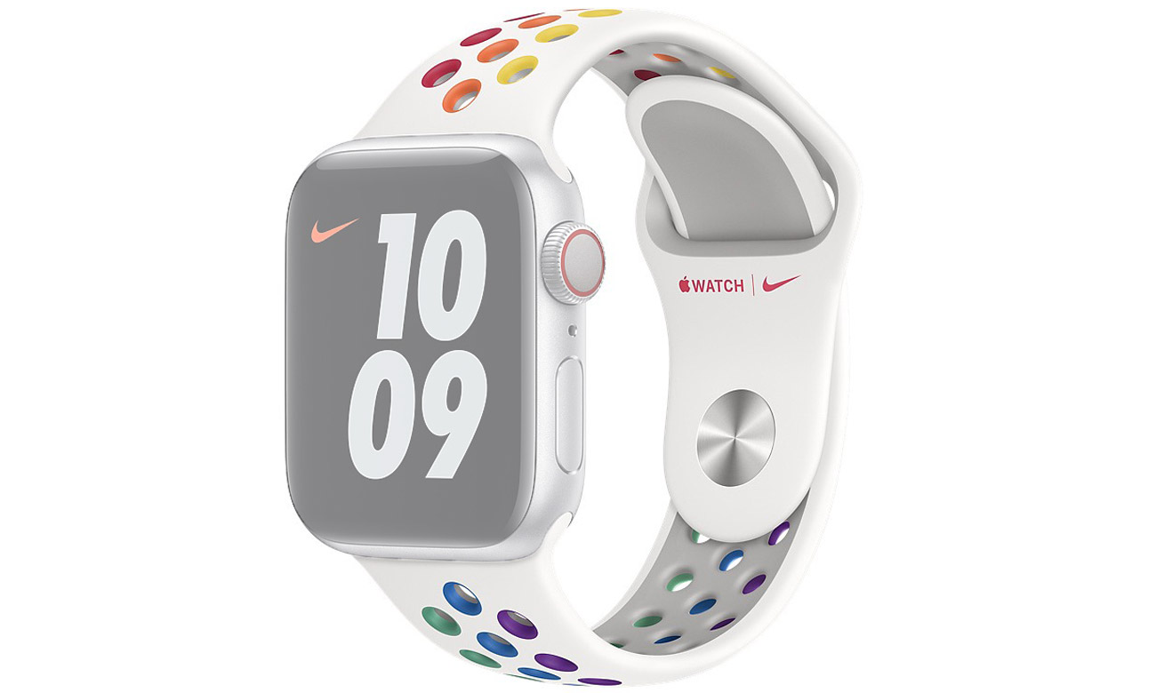 Pasek sportowy Nike Pride Edition do Apple Watch 40 mm