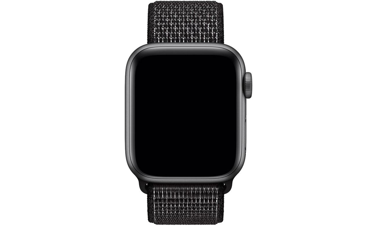 Apple Opaska sportowa Nike czarna do koperty 40 mm