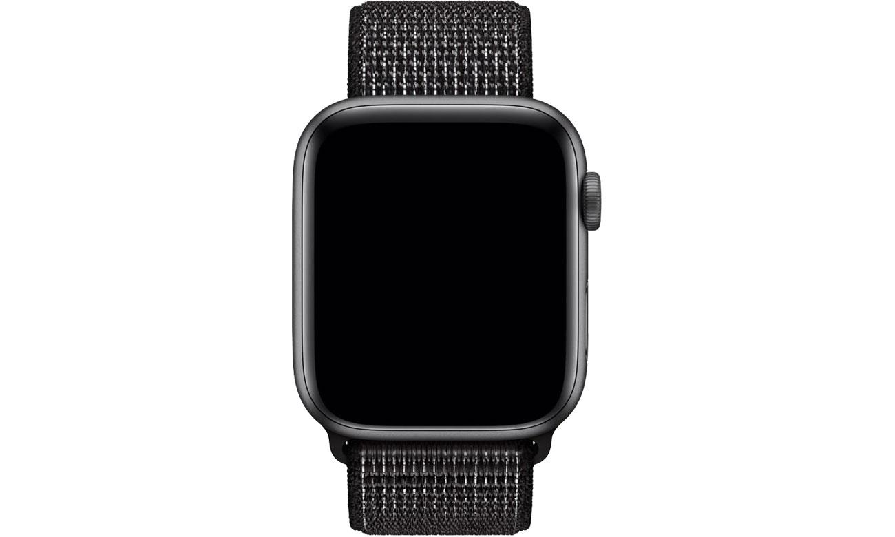 Apple Opaska sportowa Nike czarna do koperty 44 mm