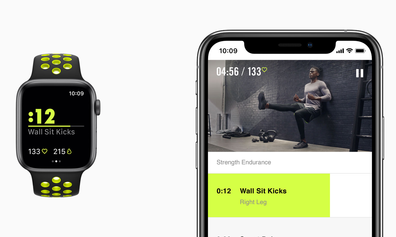 Apple Watch Nike+ trener monitor zdrowia