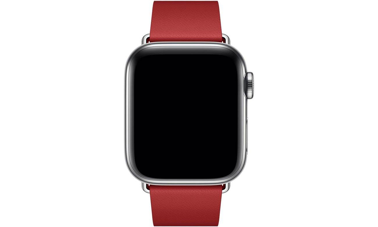 Pasek z klamrą nowoczesną (PRODUCT)RED do Apple Watch 40 mm - rozmiar M