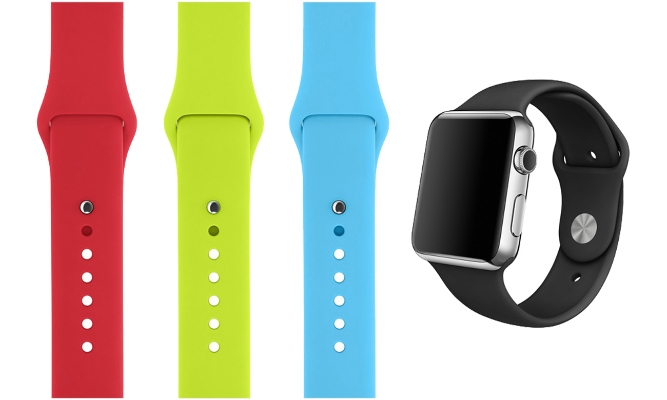 Silikonowy do Apple Watch 42 mm różowy