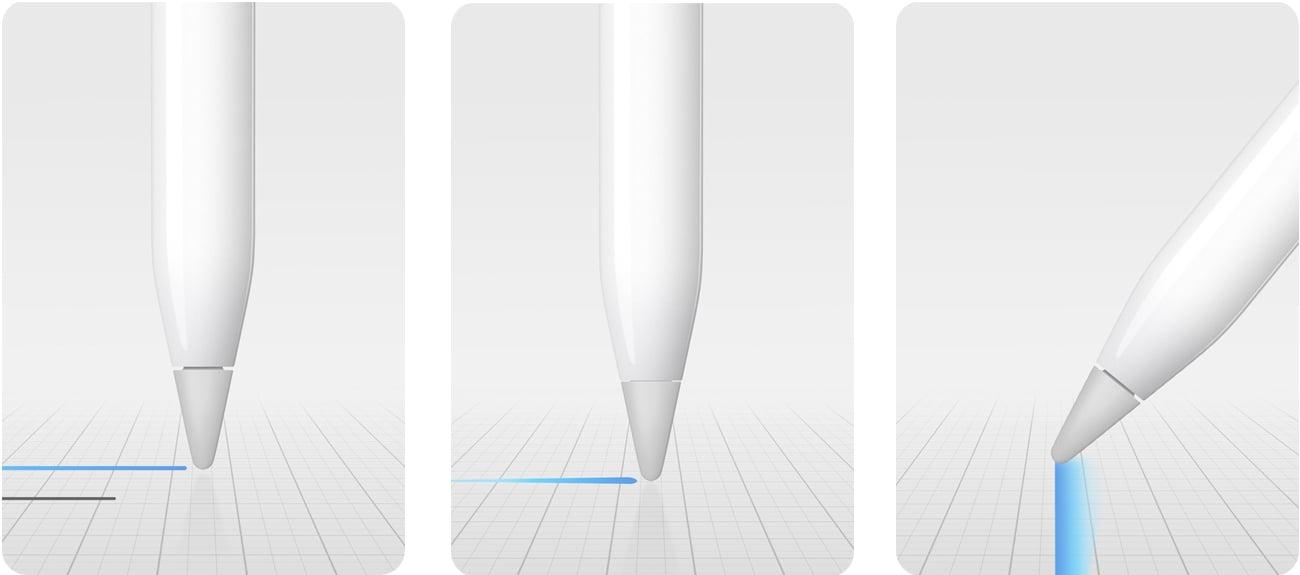 Rysik Apple Pencil MK0C2ZM/A opcje dla twórców