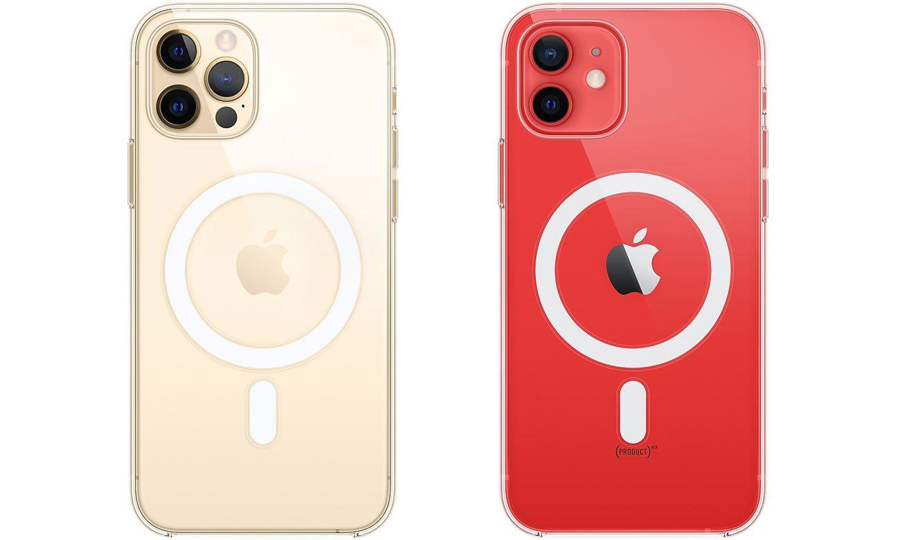 Przezroczyste etui z MagSafe do Apple iPhone 12 / 12 Pro
