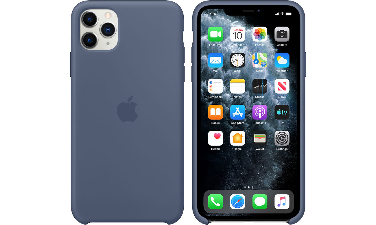 Apple Silicone Case do iPhone 11 Pro Max Alaskan Blue MX032ZM/A