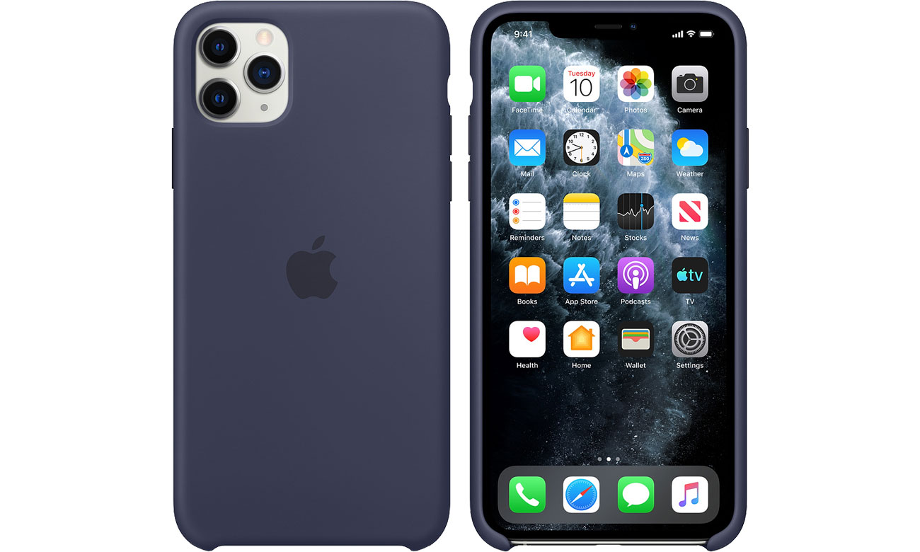 Apple Silicone Case do iPhone 11 Pro Max Midnight Blue MWYW2ZM/A