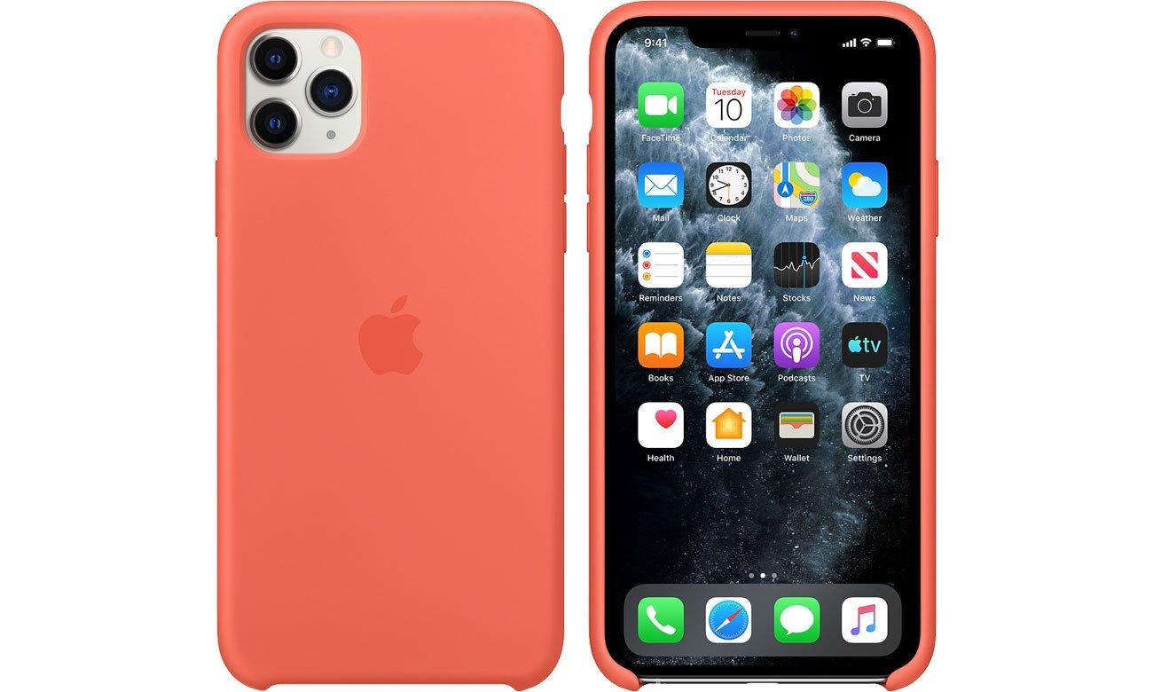Apple Silicone Case do iPhone 11 Pro Max Orange MX022ZM/A