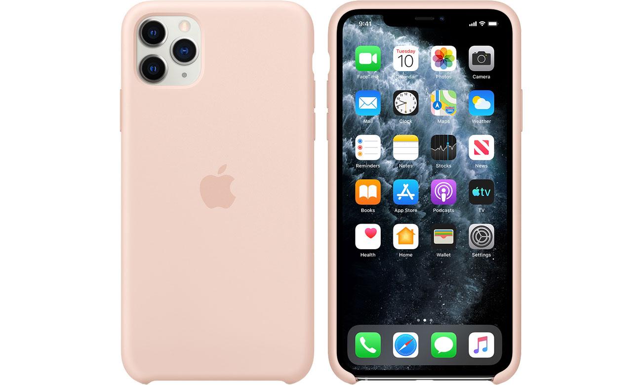 Apple Silicone Case do iPhone 11 Pro Max Pink Sand MWYY2ZM/A