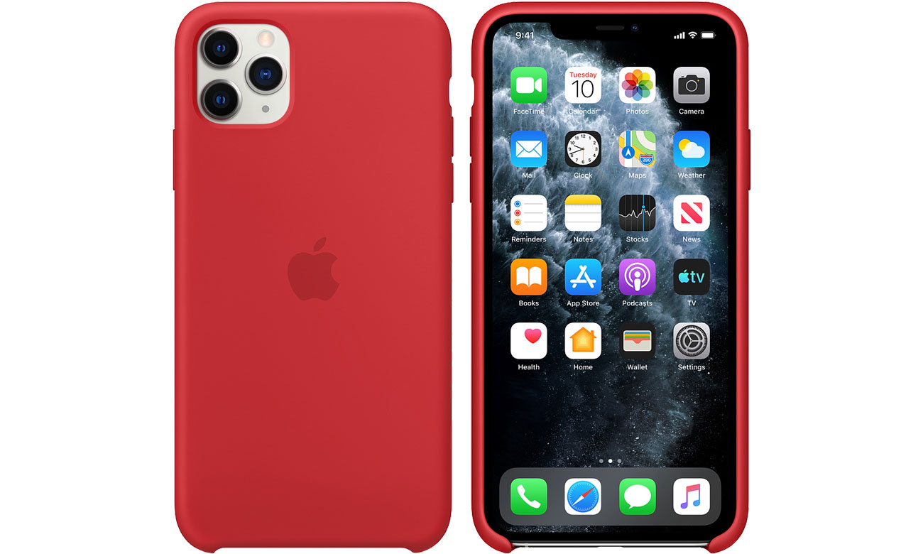 Apple Silicone Case do iPhone 11 Pro Max (PRODUCT)RED MWYV2ZM/A
