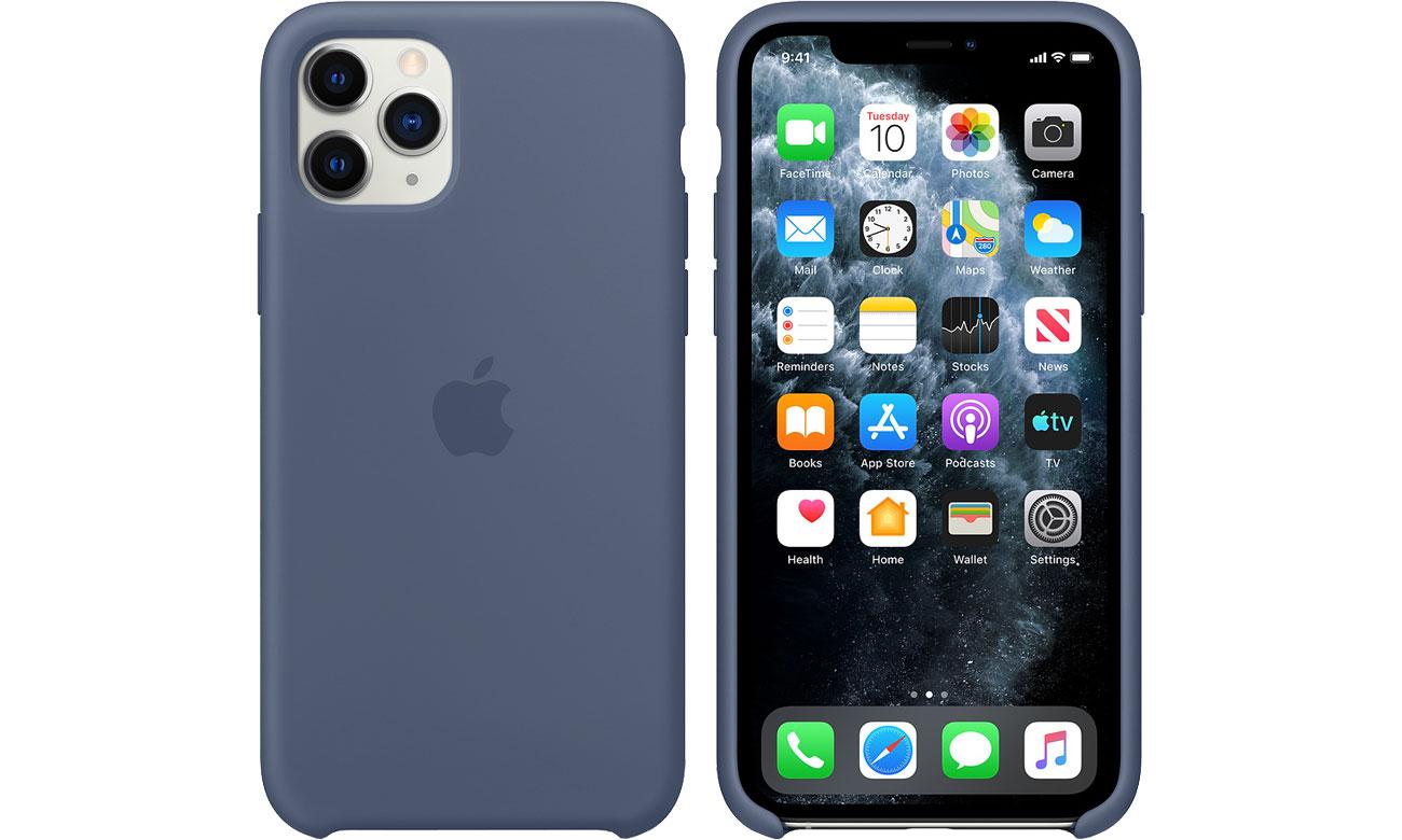 Apple Silicone Case do iPhone 11 Pro Alaskan Blue MWYR2ZM/A