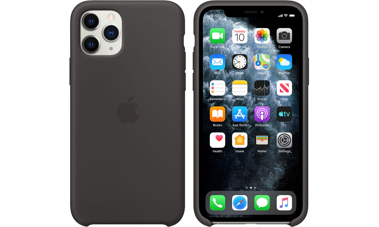 Apple Silicone Case do iPhone 11 Pro Black MWYN2ZM/A