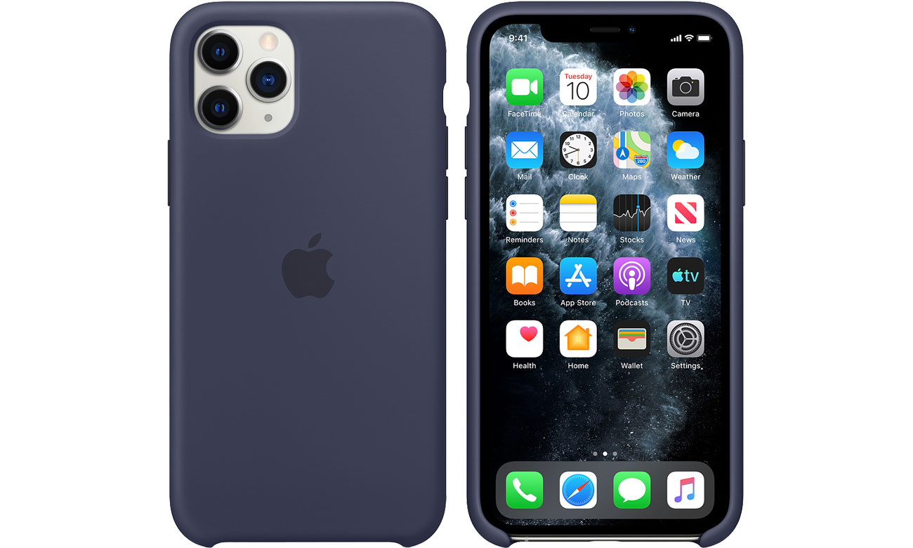 Apple Silicone Case do iPhone 11 Pro Midnight Blue MWYJ2ZM/A