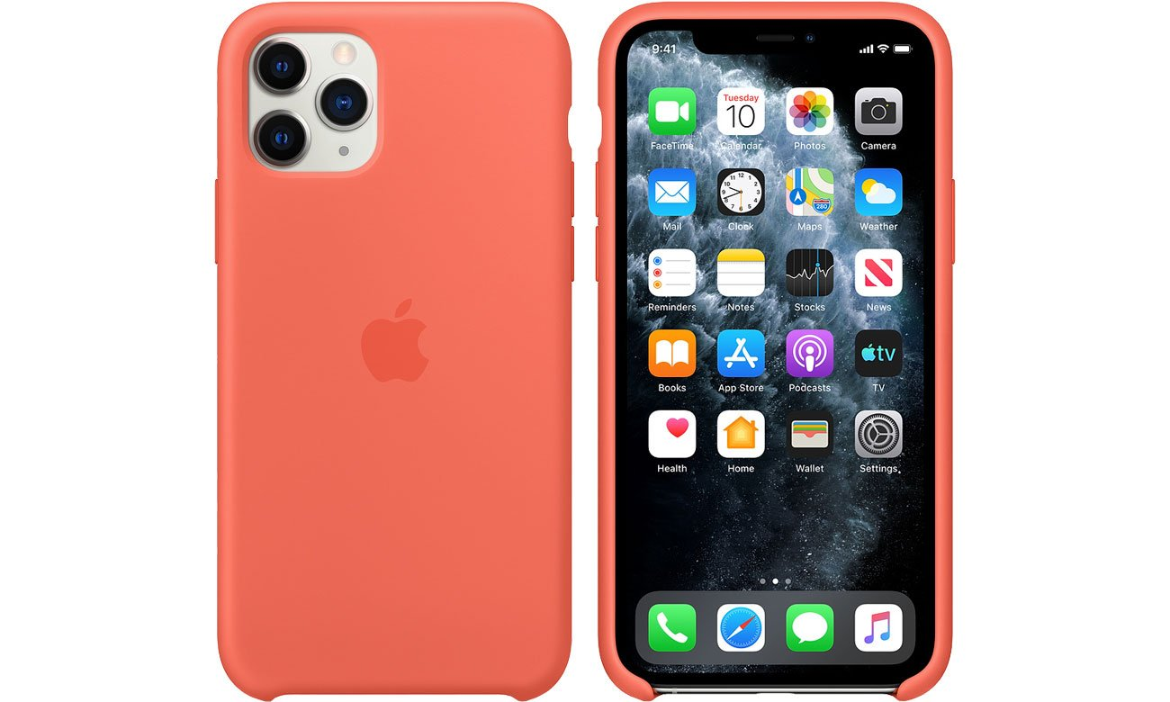 Apple Silicone Case do iPhone 11 Pro Orange MWYQ2ZM/A