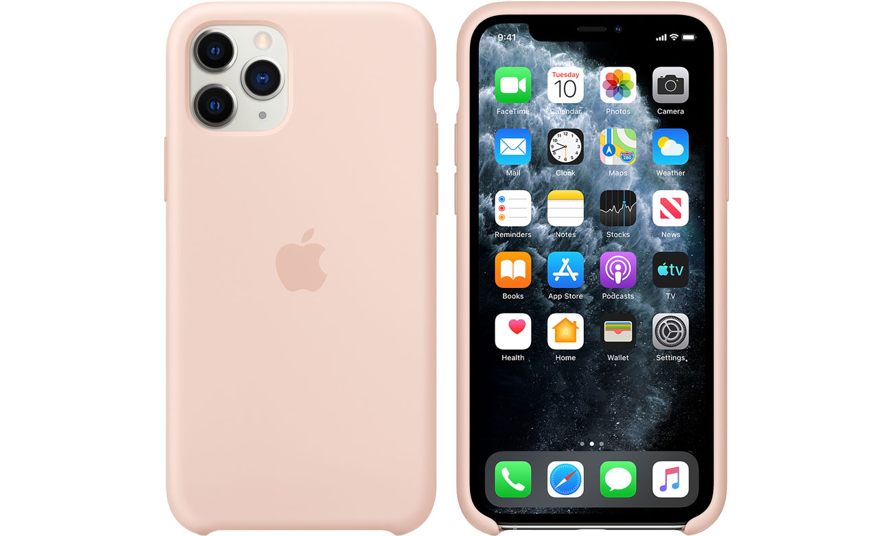 Apple Silicone Case do iPhone 11 Pro Pink Sand MWYM2ZM/A