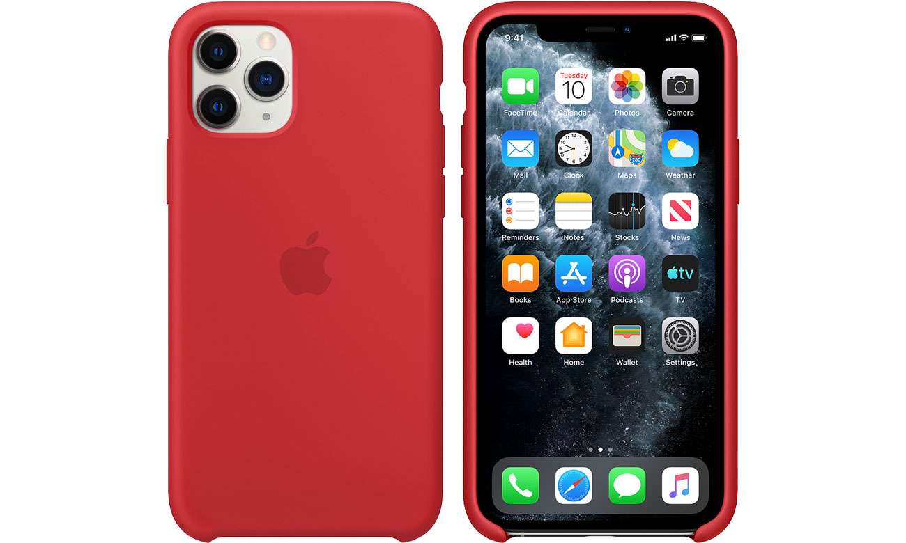 Apple Silicone Case do iPhone 11 Pro (PRODUCT)RED MWYH2ZM/A