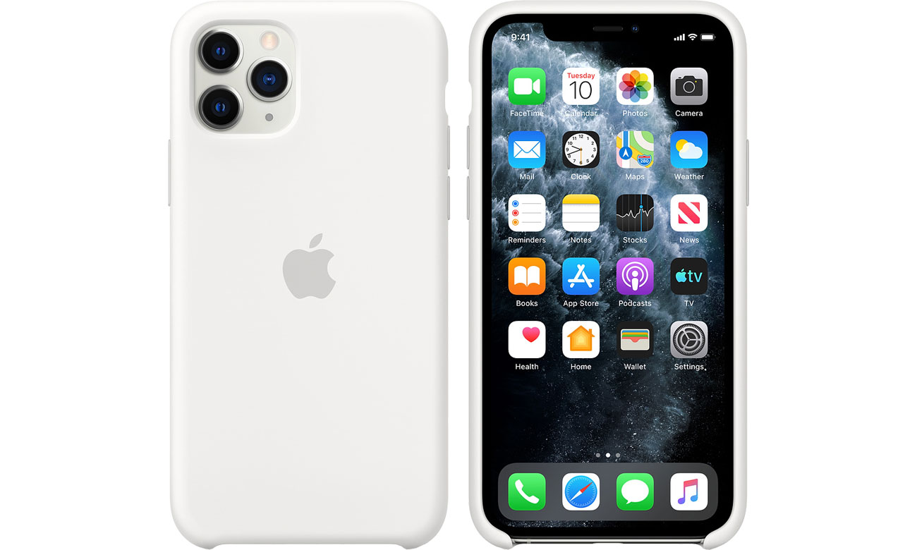 Apple Silicone Case do iPhone 11 Pro White MWYL2ZM/A